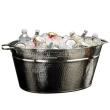 American Metalcraft HMDOB19149 Hammered S/S Party Tub