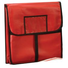 "American Metalcraft 18 x 18"" Red Standard Pizza Delivery Bag"