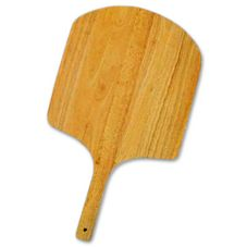 "Allied Metal WP1424 14"" x 16"" Wood Peel With Short Handle"