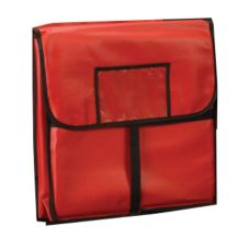 "American Metalcraft 20 x 20"" Red Standard Pizza Delivery Bag"