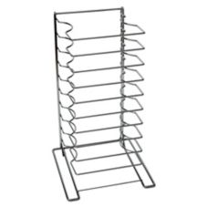 American Metalcraft 19033 Oversized Pizza Rack w/ 10 Shelves