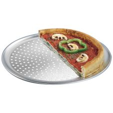 "American Metalcraft PTP12 Perf. Wide Rim 12"" Aluminum Pizza Pan"