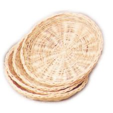 "Taching 10"" x 1"" H Round Bamboo Plate Holder"