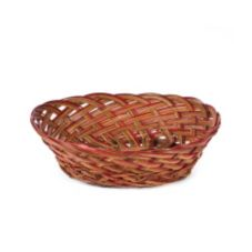 "Willow Specialties 12-1/2"" x 9-1/2"" Oval Coco Midrib Bowl"