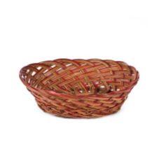 "Willow Specialties 53040.13 12-1/2"" x 9-1/2"" Oval Coco Midrib Bowl"