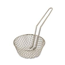 "Browne Foodservice Coarse Mesh 10"" Culinary Basket"