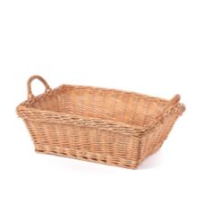 "Willow Specialties 873740.17 17"" x 13"" Mini Wash Basket"