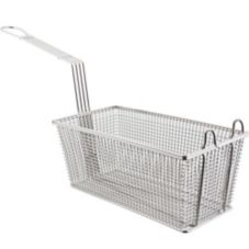 "FMP® 225-1001 13"" Fry Basket With Twin Front Hook"