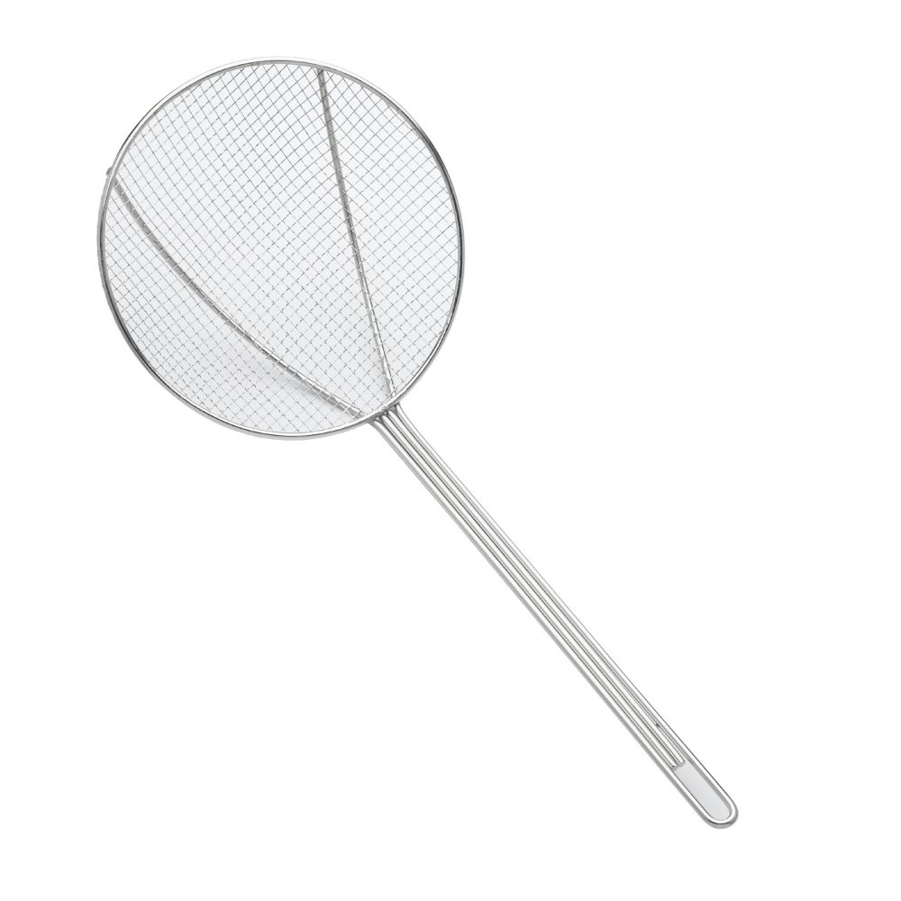 "Browne Foodservice 1308T 8"" Nickel Plated Round Skimmer at Sears.com"