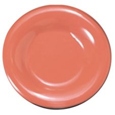 "Thunder Group CR007RD Red Melamine 8"" Plate - 12 / CS"