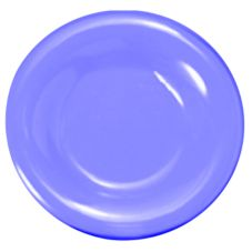 "Thunder Group CR007BU 7-1/2"" Wide Rim Round Blue Plate - 12 / CS"
