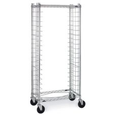 "Metro® Side-Loading Wire Bun Pan Rack w/ 3"" Slide Space"