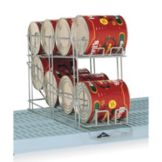 Metro® CR24E MetroMax Q® Taupe Epoxy Wire Can Rack System