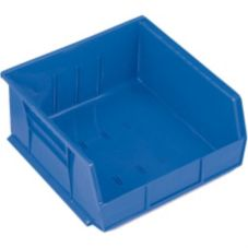 "Metro® MB30235B Super Erecta® Blue 10-7/8"" x 11"" Stacking Bin"