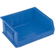 "Metro MB30250B Super Erecta® Blue 14-3/4"" x 16-1/2"" Stacking Bin"