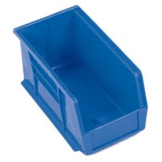 "Metro MB30230B Super Erecta® Blue 10-7/8"" x 5-1/2"" Stacking Bin"