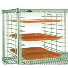 "Super Erecta Wire Tray Slide Rack f/ 18"" Shelves, Metroseal"