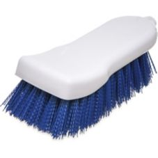 "Carlisle 4052114 Sparta® 6"" Blue Polyester Hand Scrub Brush"