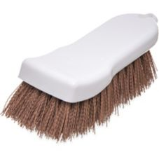"Carlisle® 4052125 6"" Tan Polyester Hand Scrub Brush"