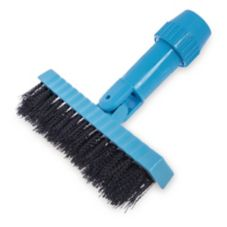 "Carlisle 36532003 7-1/2"" Black Pivoting Tile / Grout Brush Head"