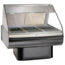 Alto-Shaam® Full Service Hot Deli Display w/ Pedestal Base