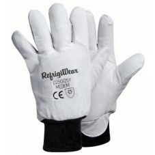 RefrigiWear® 0250R-MED Medium Gray Deerskin Glove - Pair
