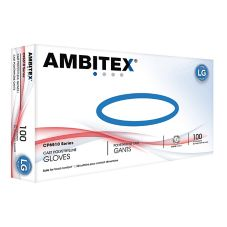 Tradex CP6510-LG Ambitex Lrg Textured Cast Poly Gloves - 100 / BX
