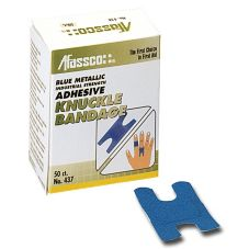Afassco® 1437 Fine Woven Adhesive Knuckle Bandages - 50 / BX