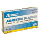 Afassco® 342 Clear Adhesive Plaster Tape - 2 / BX
