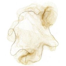 Cellucap® HN5LB Light Brown Lightweight Nylon Hairnet - 144 / GR