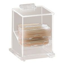 Cal-Mil® 304 Clear Toothpick Dispenser for Wrapped Toothpicks