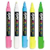 Cal-Mil 240 5-Color Dry Erase Pen Set for Write-On Boards
