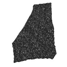 "Cal-Mil® 12"" x 15"" Black Ice X-Stone Tray"