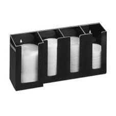 Cal-Mil 376-13 4 Compartment Black Organizer