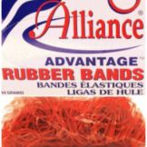 Alliance Rubber #33 Advantage™ Red Rubber Bands - 830 / BX