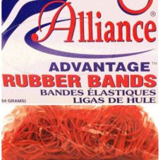 Alliance Rubber Advantage™ 1 Lb. Box Red Rubber Bands