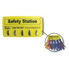 Tucker Safety 99953 5-Clip KutGlove Cut Resistant Glove Safety Station