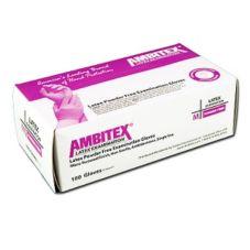 Tradex L200-MD Ambitex Med Powder-Free Latex Exam Gloves - 100 / BX
