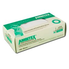 Tradex Ambitex® Large Powdered Latex Exam Gloves