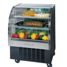 "Beverage-Air Marketeer® 37"" Black Refrigerated Display Case"