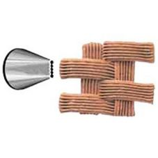 Ateco 47 Basket Weave Decorating Pastry Tip #47