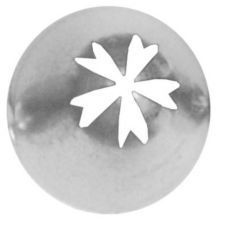 Ateco 510 Deep Cut Star Pastry Decorating Tip #510