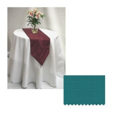 "Tablecloth Co. 72X120JADE-1 72"" x 120"" Polyester Jade Tablecloth"