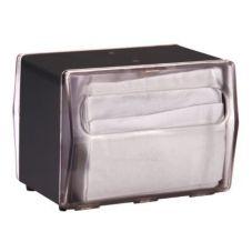 Vollrath 7516-06 Traex® Black Vertical Slot Napkin Dispenser