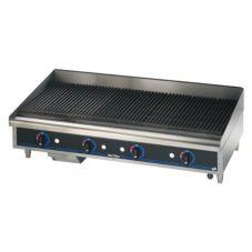 "Star® 6048CBF Star-Max® Lava Rock Gas 48"" Char-Broiler"