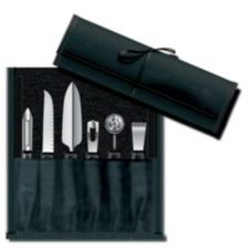 Victorinox 7-Piece Garnishing Kit with Black Nylon Handles