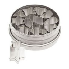 "Ateco 4846 Tin 1/2"" Aspic / Jelly Cutter Set"