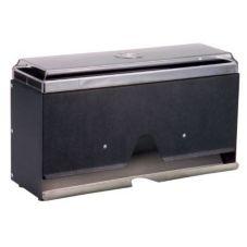 Traex 3805-06 Traex Black w/ Granite Super Straw Boss Straw Dispenser