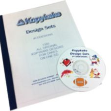 Kopykake CDDESIGNS Cake Design CD with 1380 Designs
