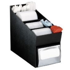 "Dispense-Rite 14.5""x8.5"" Black Organizer"